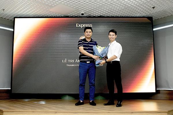 Anh Lê Việt Thắng - Founder của 1Office phát biểu tại sự kiện