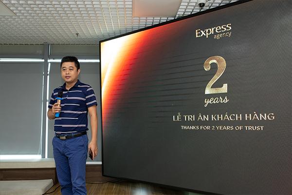 Anh Lê Việt Thắng - Founder của 1Office phát biểu