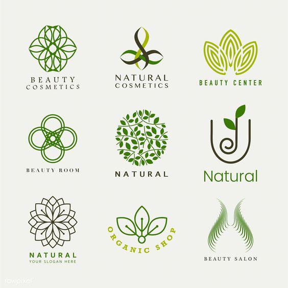 Ứng dụng màu xanh trong thiết kế logo