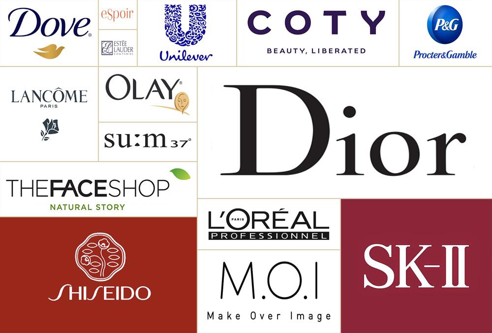 Logo một số thương hiệu mỹ phẩm